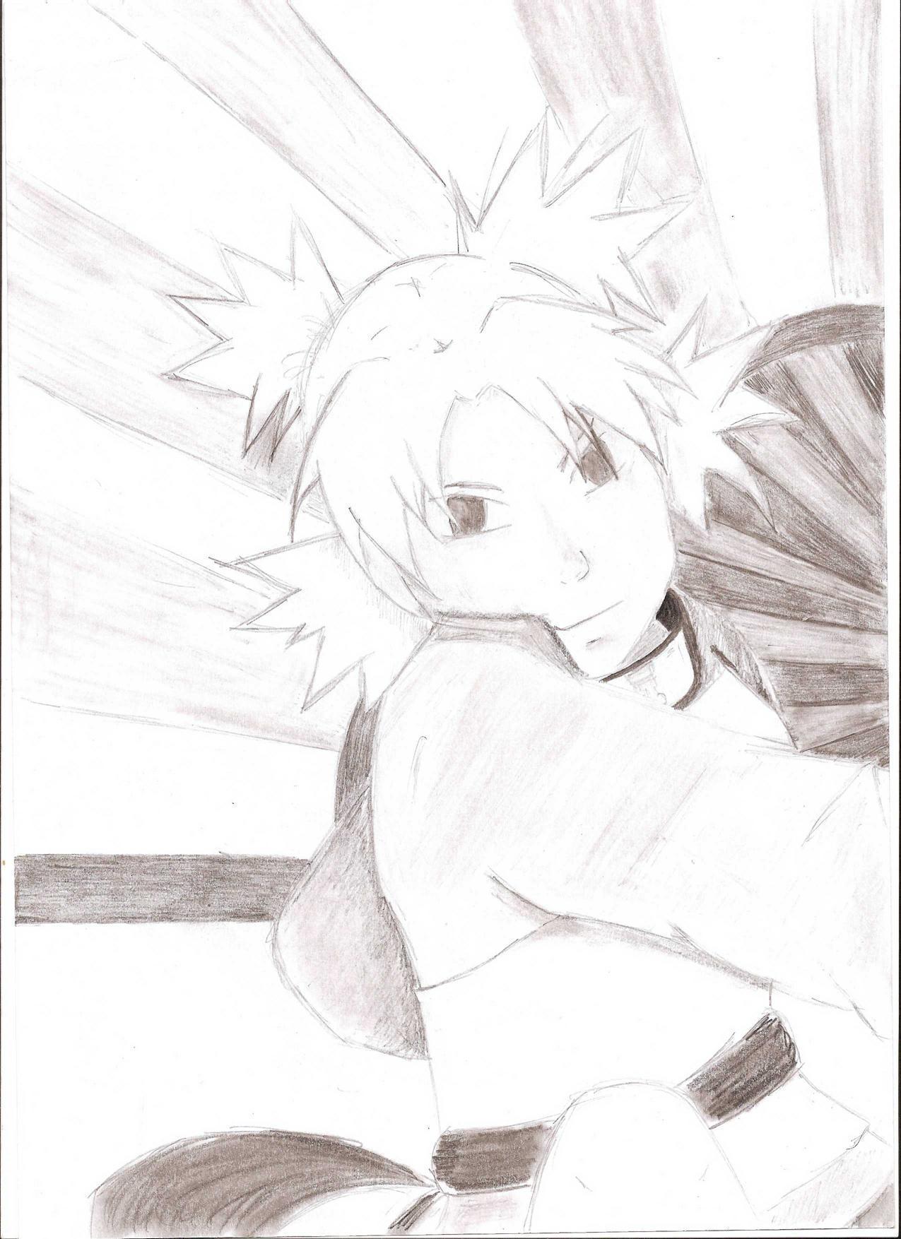 Fanart de Temari par Tsukiiyo