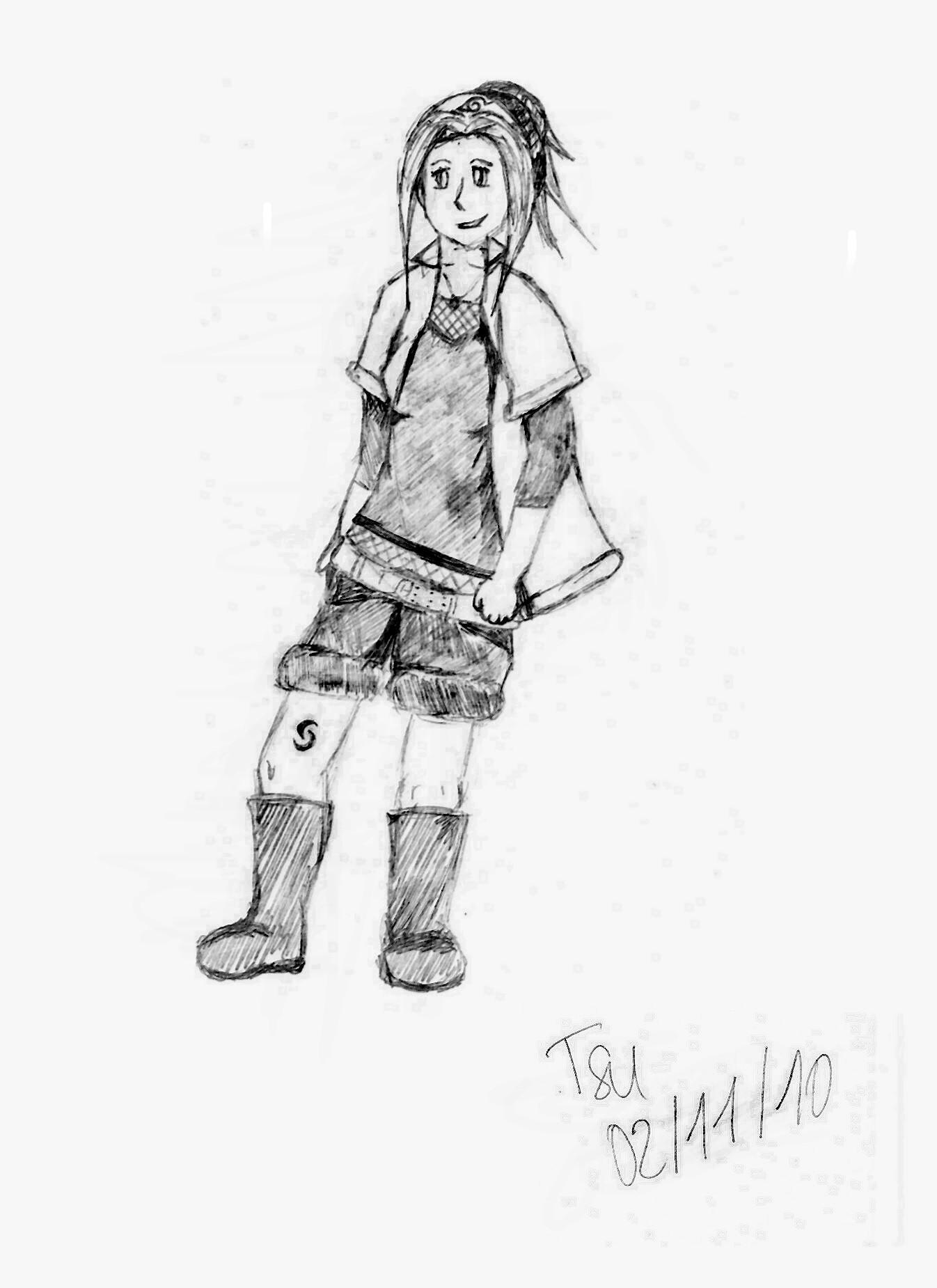 Fanart Naruto par Tsukiiyo