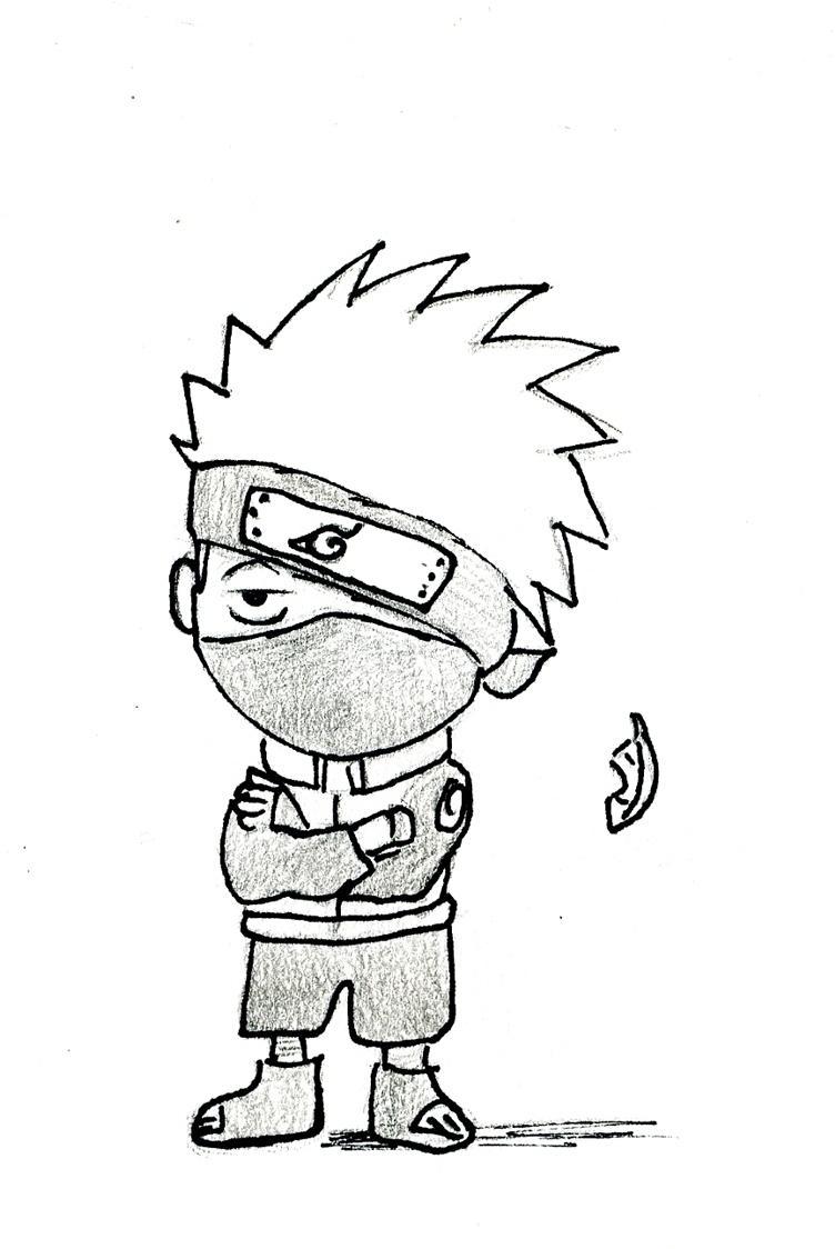 Naruto the way of naruto et pour finir un mini kakashi - Dessin de mini ...