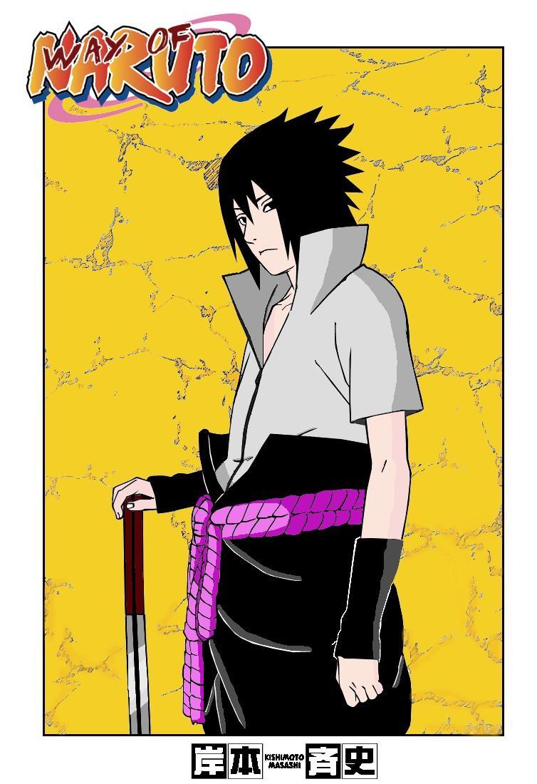 Fanart de Uchiwa Sasuke par stanos2433