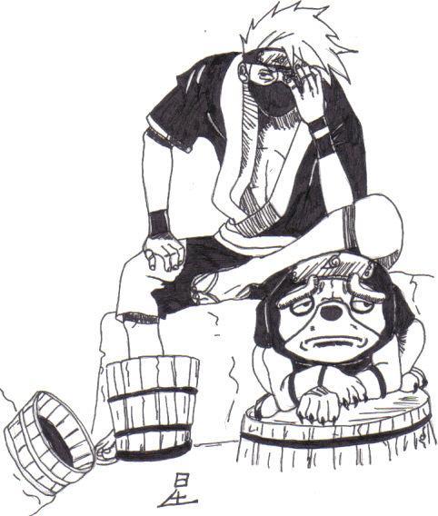 Fanart de Hatake Kakashi par Hijikata