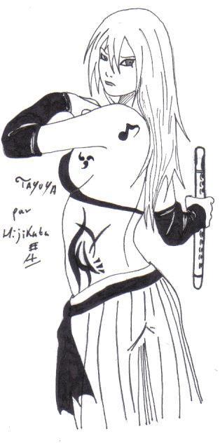 Fanart de Tayuya par Hijikata