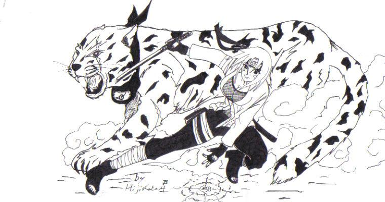 Fanart Naruto par Hijikata