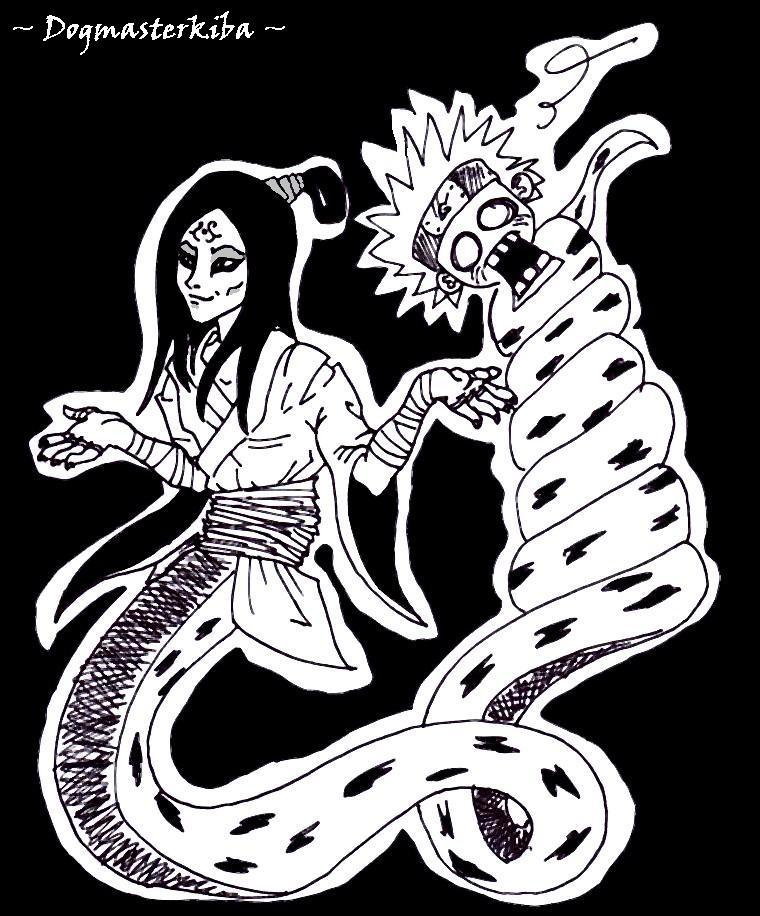 Fanart de Orochimaru par dogmasterkiba