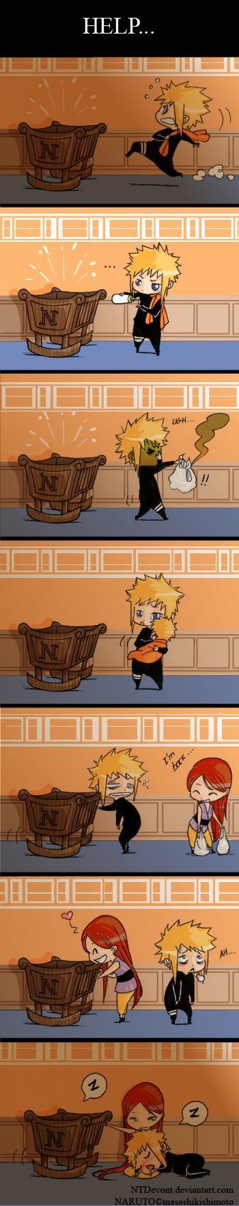 Fanart de Uzumaki Naruto, Yondaime Hokage par Hiin
