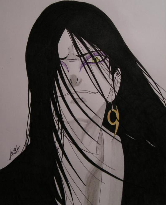 Fanart de Orochimaru par Akir@San