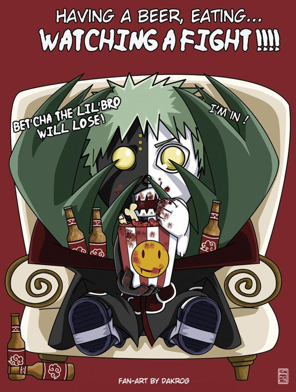 Fanart Naruto par DaKroG