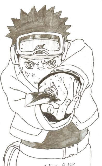 comment dessiner obito