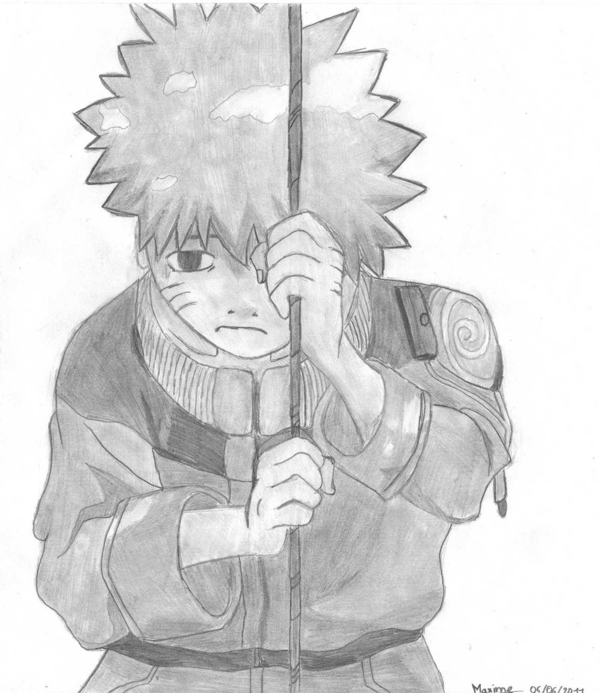 Naruto the way of naruto naruto triste de tio - Dessin triste ...