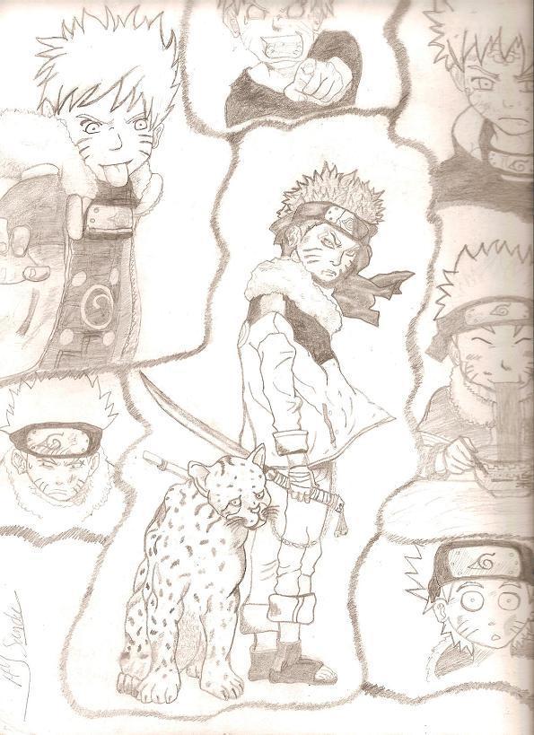 Fanart de Uzumaki Naruto par Miss Lune