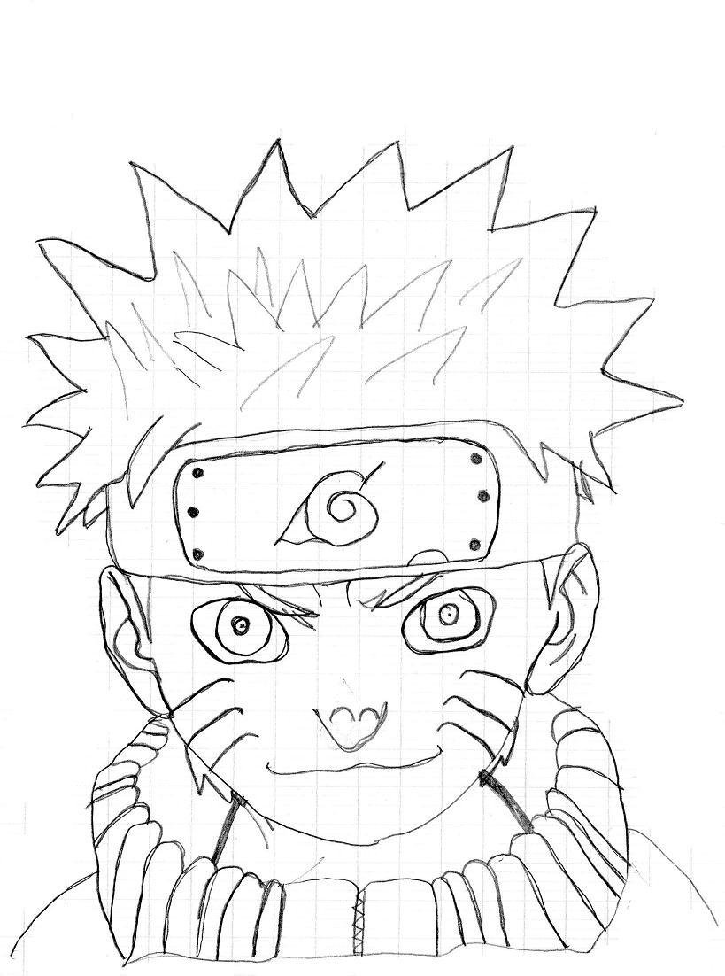 Naruto the way of naruto naruto dessin simple de manuel3 - Naruto uzumaki dessin ...