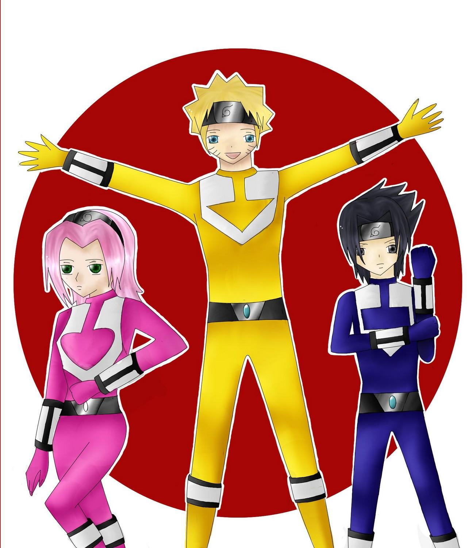 Fanart de Haruno Sakura, Uchiwa Sasuke, Uzumaki Naruto par dwennora