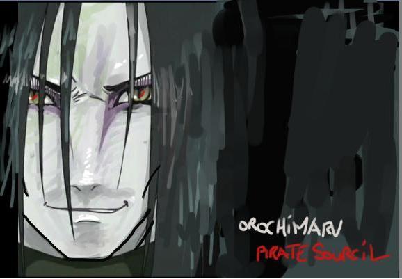 Fanart de Orochimaru par PirateSourcil