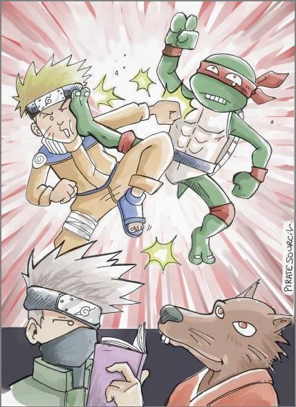 Fanart de Uzumaki Naruto par PirateSourcil