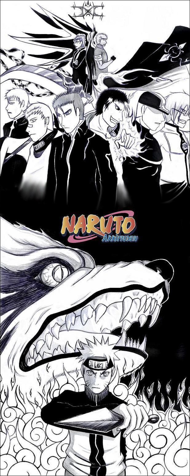 Naruto the way of naruto fake akatsuki akkipuden c - Dessin naruto akkipuden ...