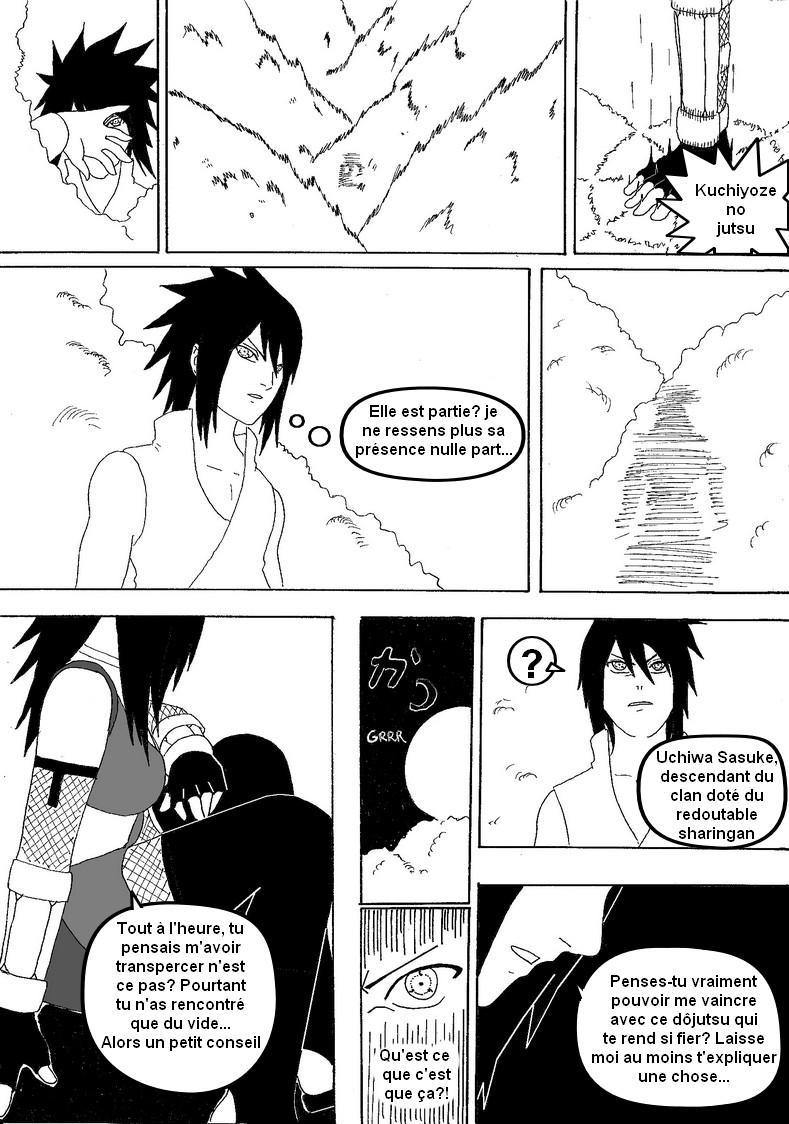 Fanart de Uchiwa Sasuke par Nightmare626