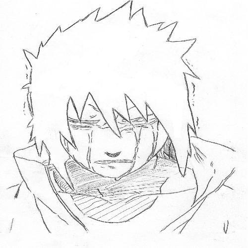 Fanart de Uchiwa Sasuke par Oliver Nara