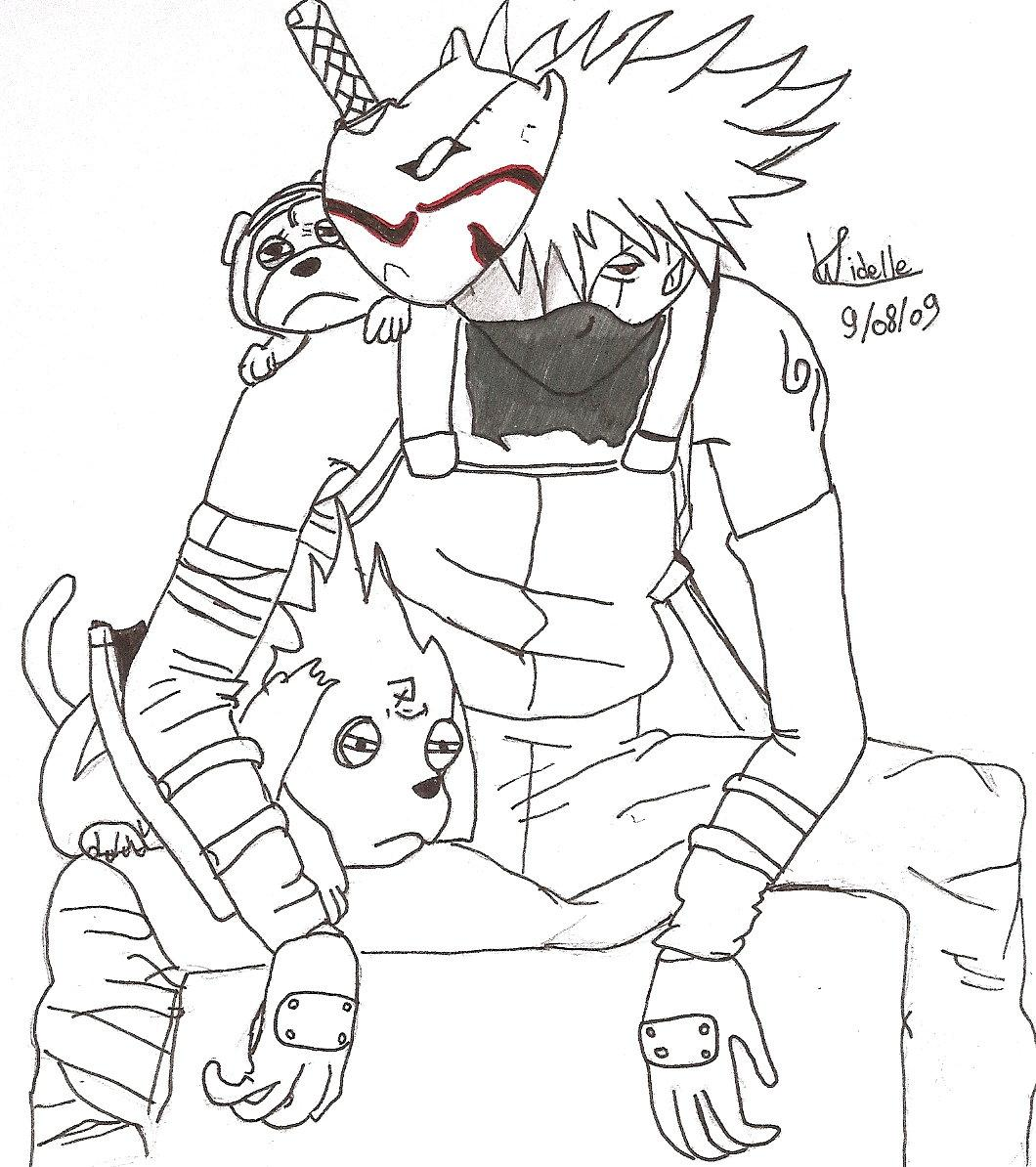 Naruto the way of naruto kakashi de ka billia - Naruto coloriage en ligne ...