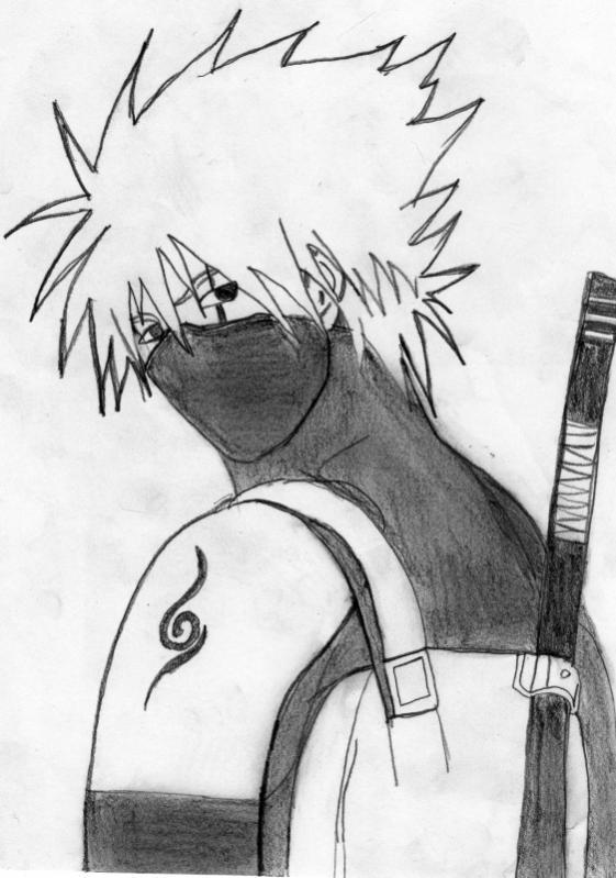Naruto the way of naruto kakashi anbu de yhwach - Dessin kakashi ...