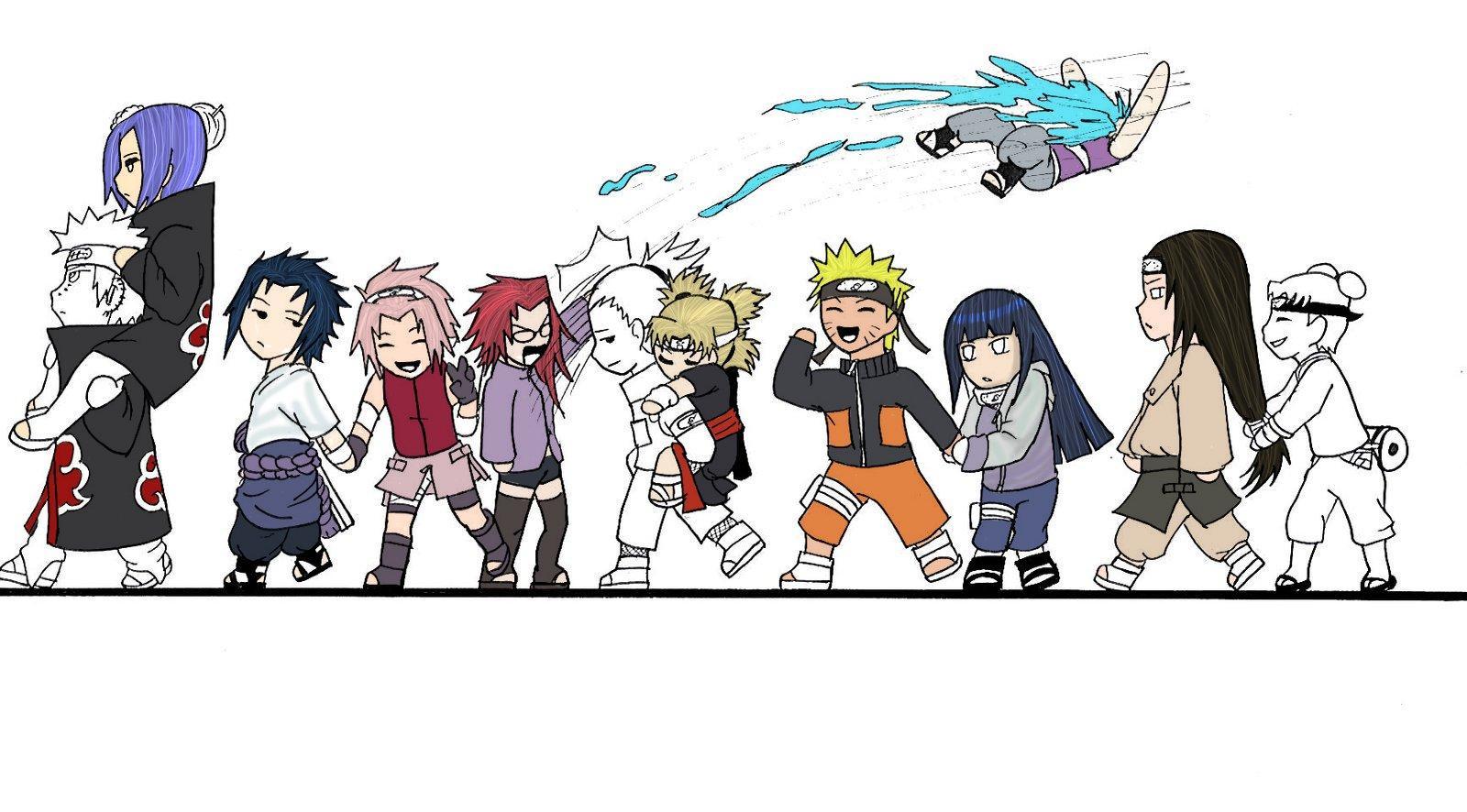 Naruto The Way Of Naruto Colo Naruto Chibi Sasuke Sakura