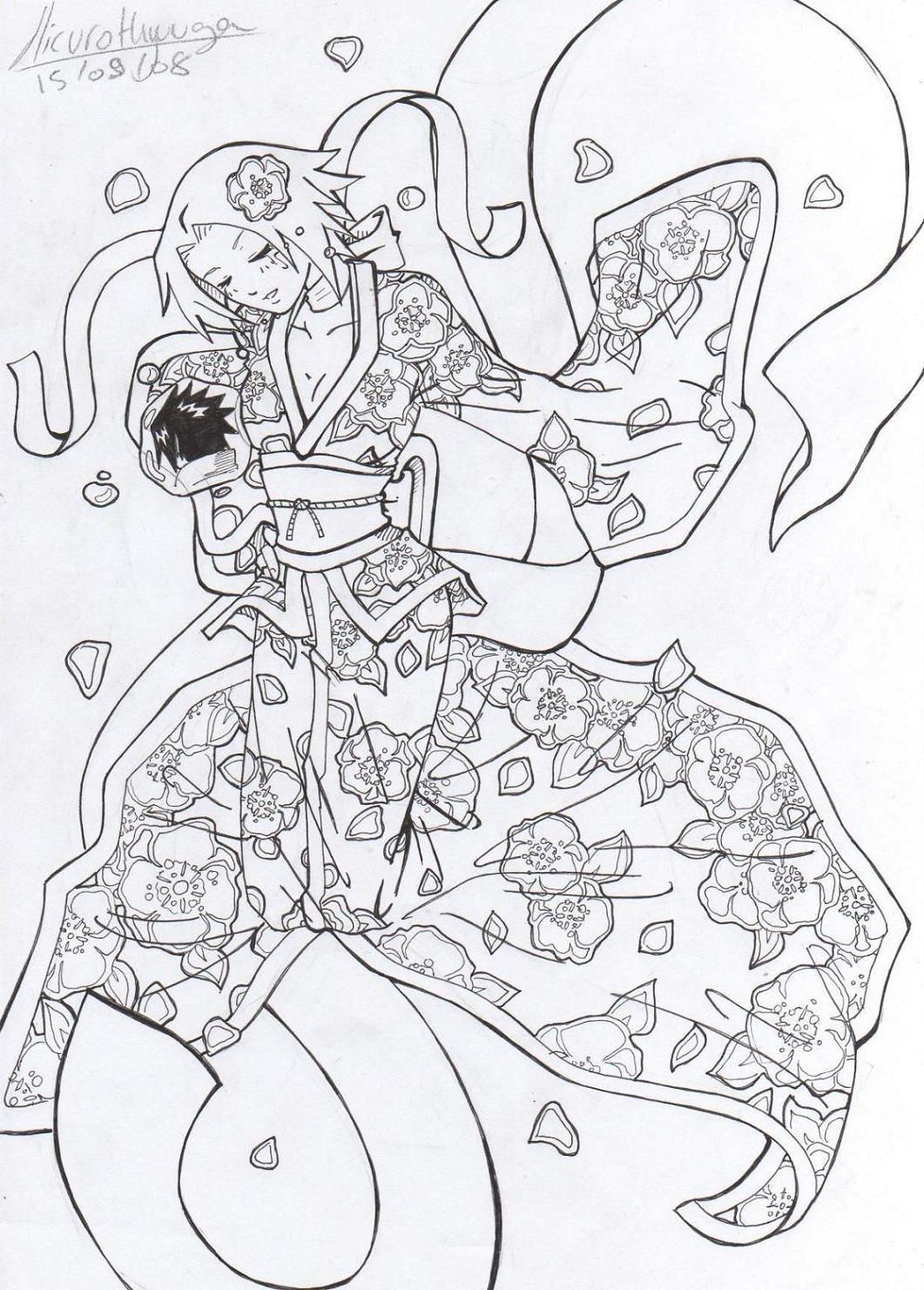 Fanart de Haruno Sakura par hicuro