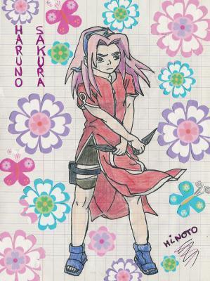 Fanart de Haruno Sakura par Paci