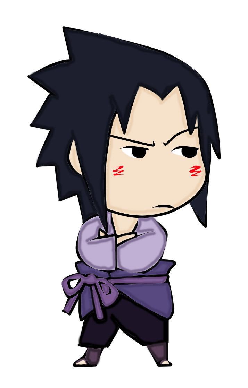 Naruto The Way Of Naruto Colo Chibi Sasuke Pour Sakura