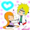 1ère colo: Kushina et Yodaime chibi!