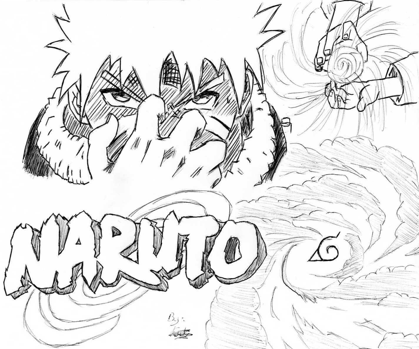 Naruto the way of naruto naruto rasengan de kouty44 - Naruto coloriage en ligne ...