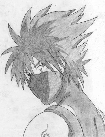 Naruto the way of naruto kakashi hatake anbu de atucha - Dessin kakashi ...