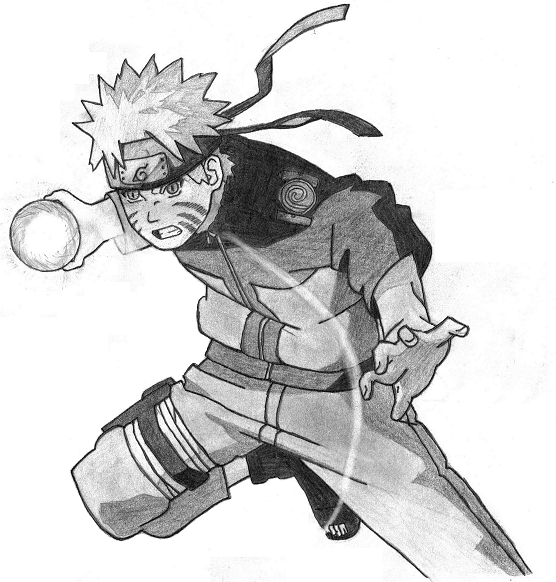 Naruto the way of naruto dessin de fred439 - Naruto uzumaki dessin ...