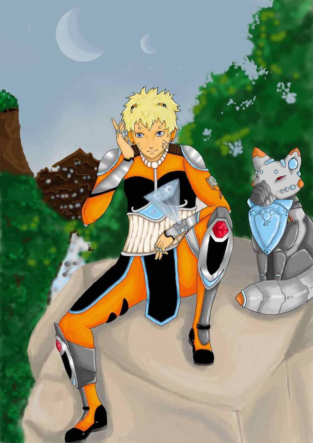 Fanart de Uzumaki Naruto par celia7