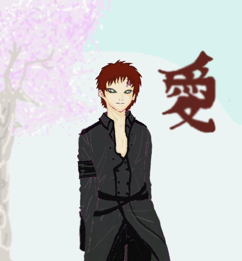 Fanart de Gaara du Désert par Kaze-chan