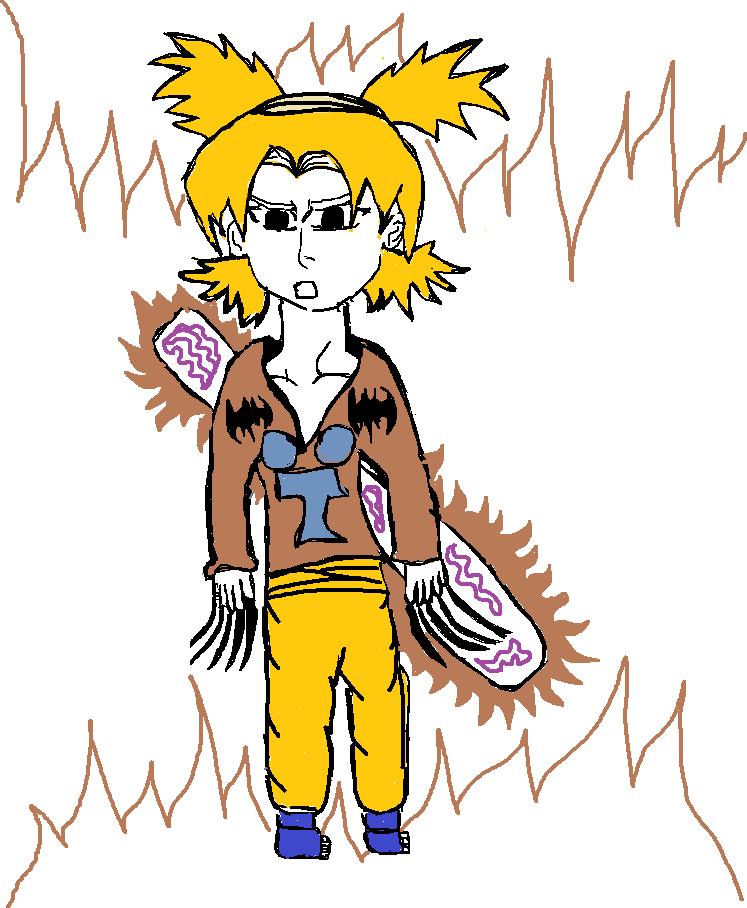 Fanart de Temari par sasuke:)