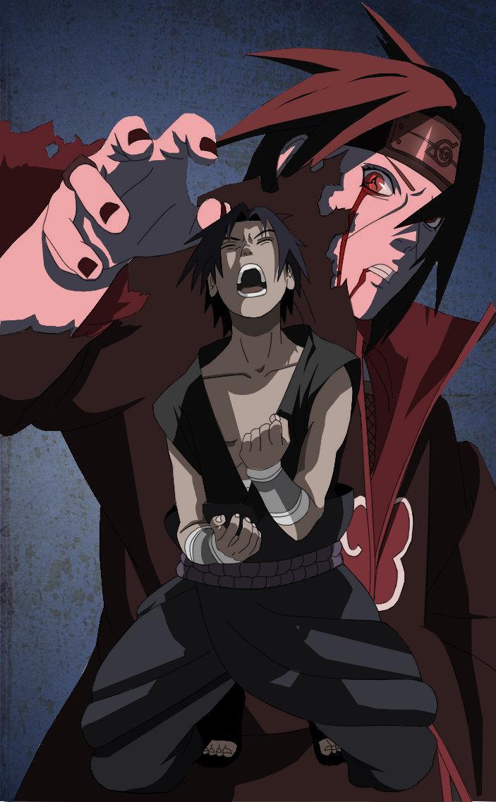 Fanart de Uchiwa Itachi, Uchiwa Sasuke par Valar