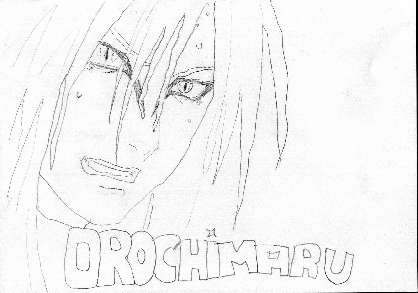 Fanart de Orochimaru par narumoto