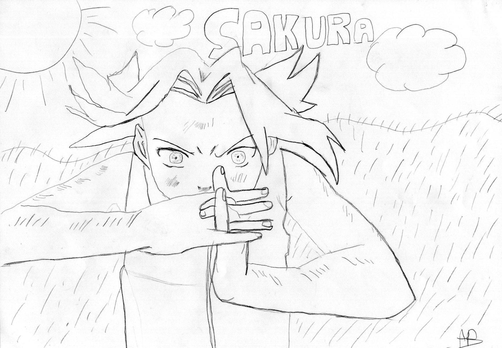 Fanart de Haruno Sakura par narumoto