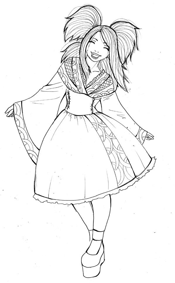 Fanart de Temari par Serafina