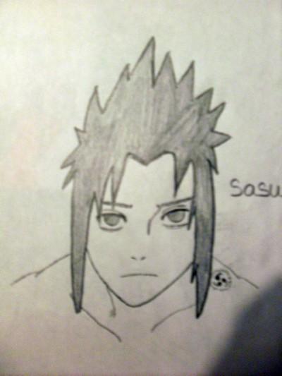 Naruto The Way Of Naruto Dessin Sasuke Uchiwa De Shamra