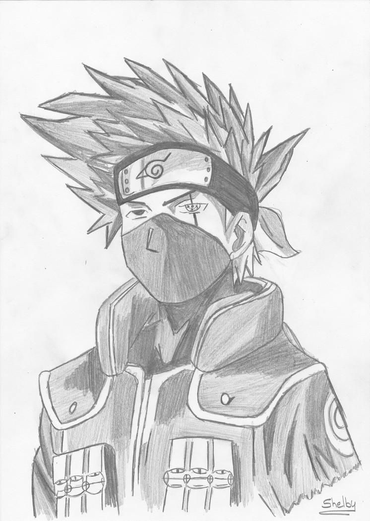 Naruto the way of naruto kakashi sensei de shellby - Comment dessiner sasuke ...