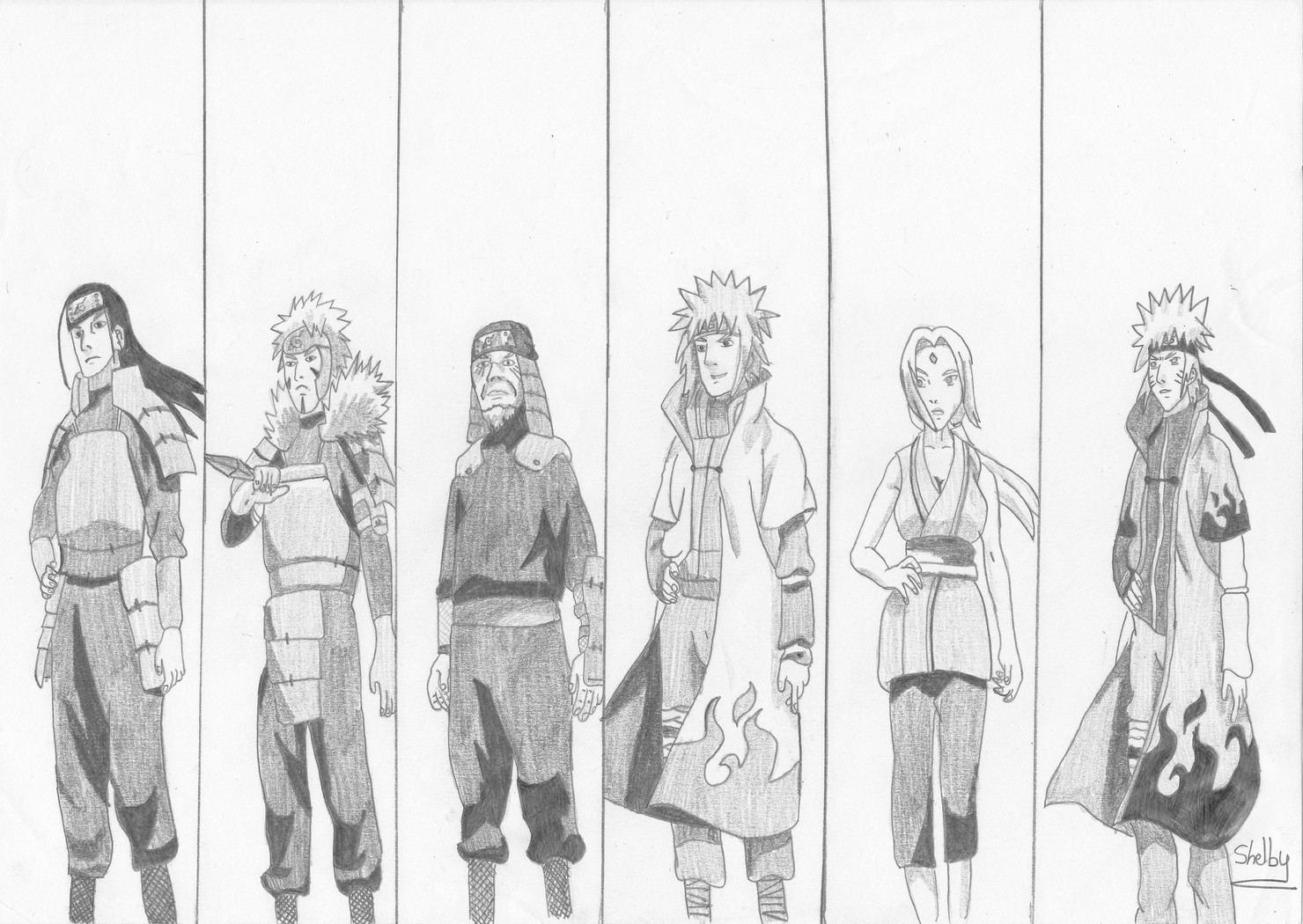 Comment dessiner hashirama - Comment dessiner un ninja ...