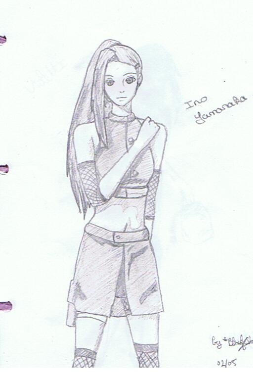 Fanart de Yamanaka Ino par Violette-Hina