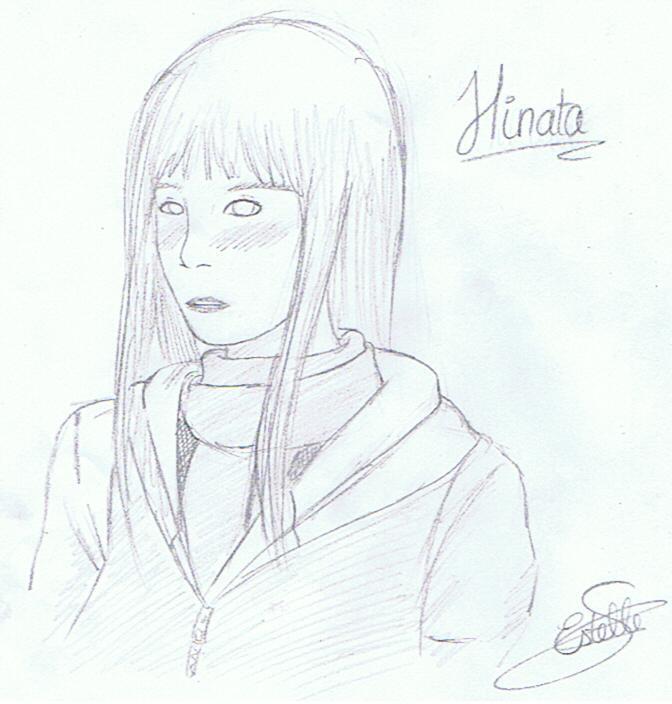 Fanart de Hyûga Hinata par Violette-Hina