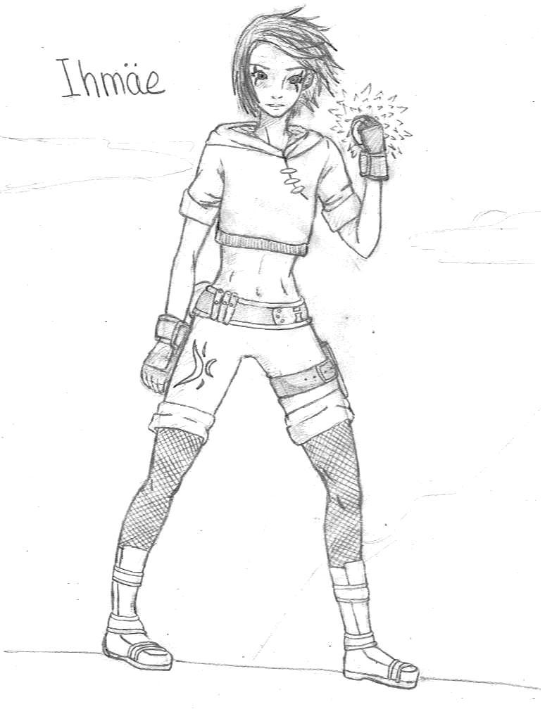 Fanart Naruto par Violette-Hina