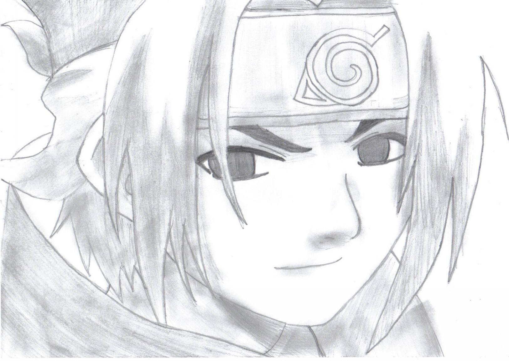 Fanart de Uchiwa Sasuke par amel020991