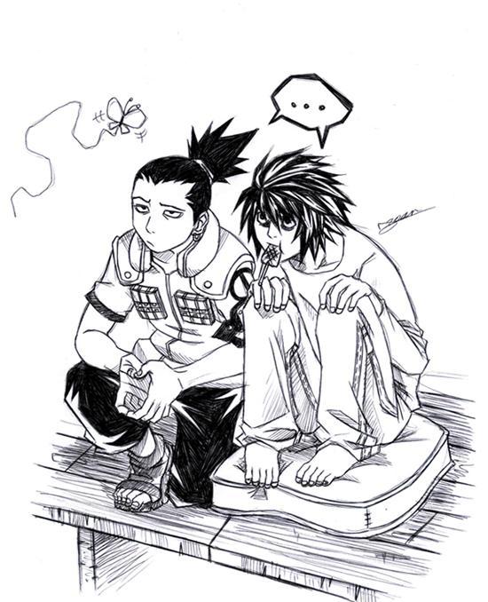 Fanart de Nara Shikamaru par Uchiha_Sasuke