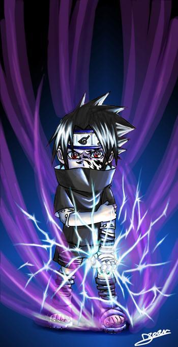 Fanart de Uchiwa Sasuke par Uchiha_Sasuke