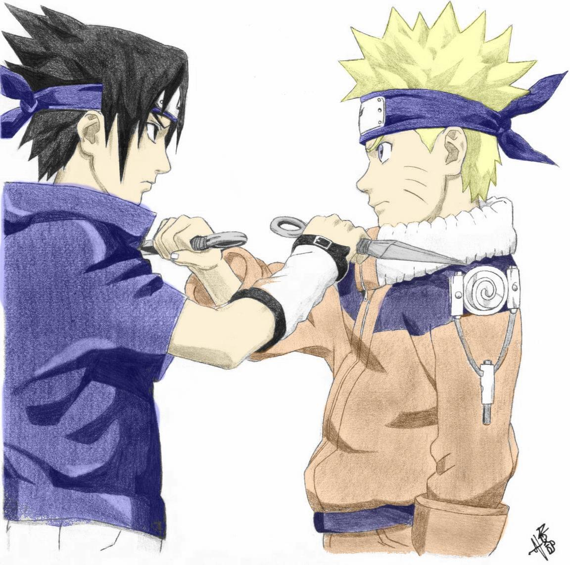 Naruto the way of naruto naruto vs sasuke colo du - Naruto dessin couleur ...