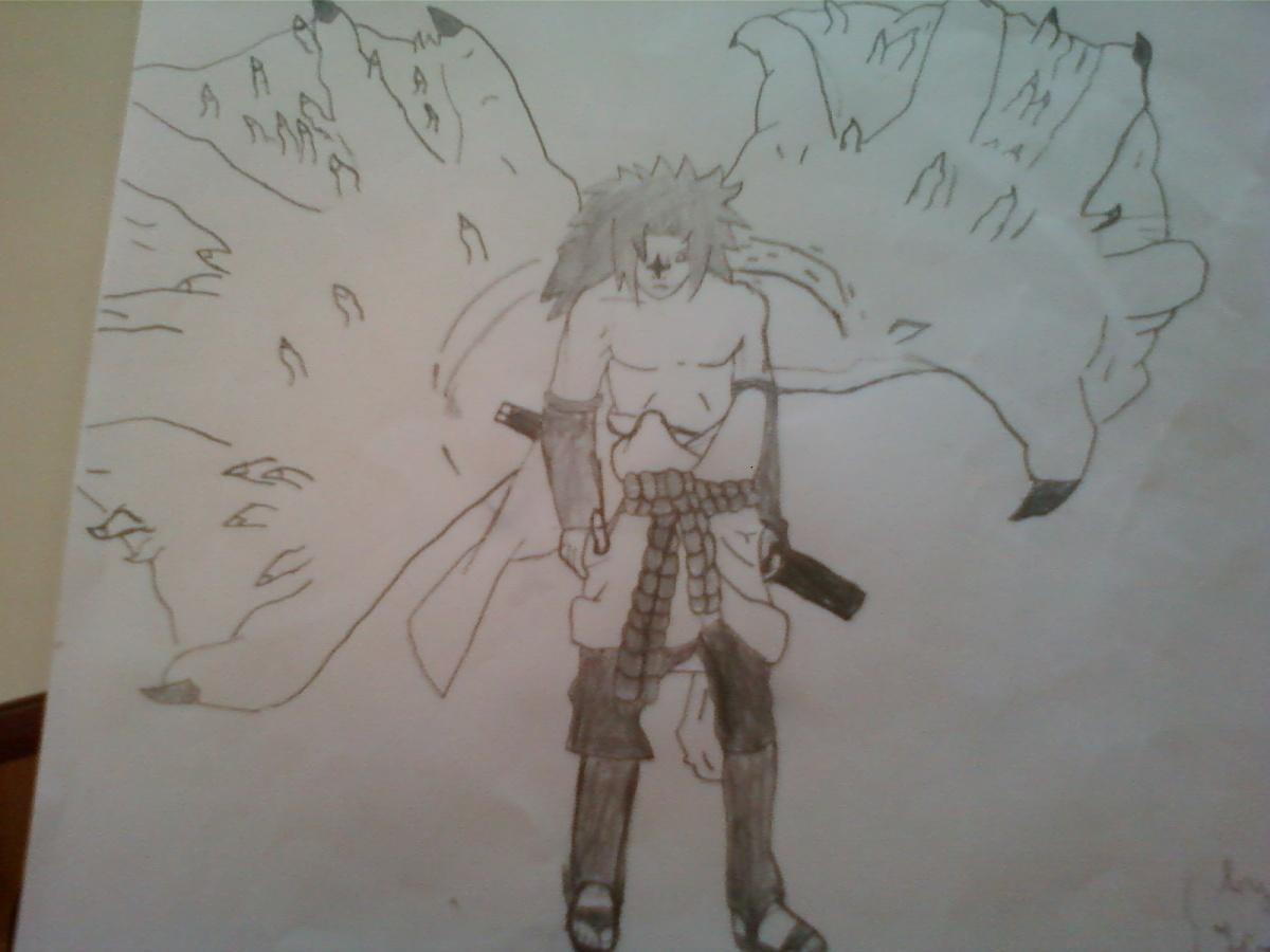 Naruto the way of naruto sasuke d mon de uchiwa63666 - Demon de sasuke ...