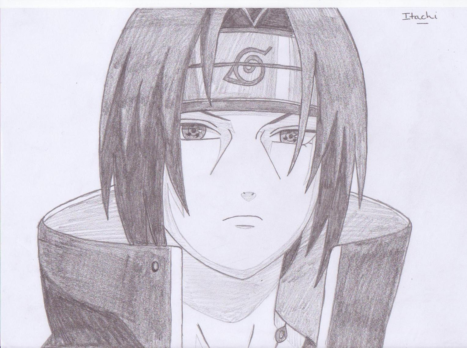 Naruto the way of naruto itachi de bubule - Comment dessiner sasuke ...